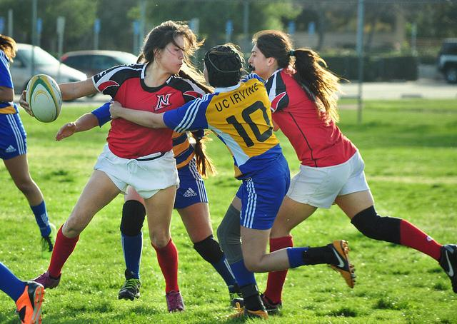 Women's Rugby: Northridge shuts down UCI in home opener