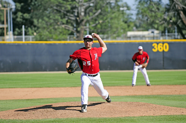 Baseball: Complete game by Salas ends CSUN losing streak