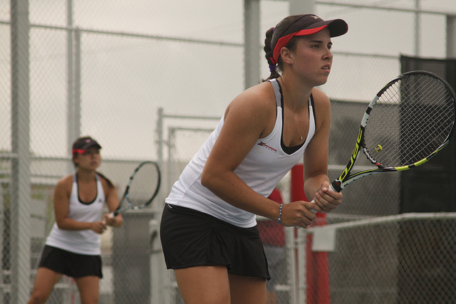 Women's Tennis: Matadors defeat Aggies to clinch winning record on season-long homestand