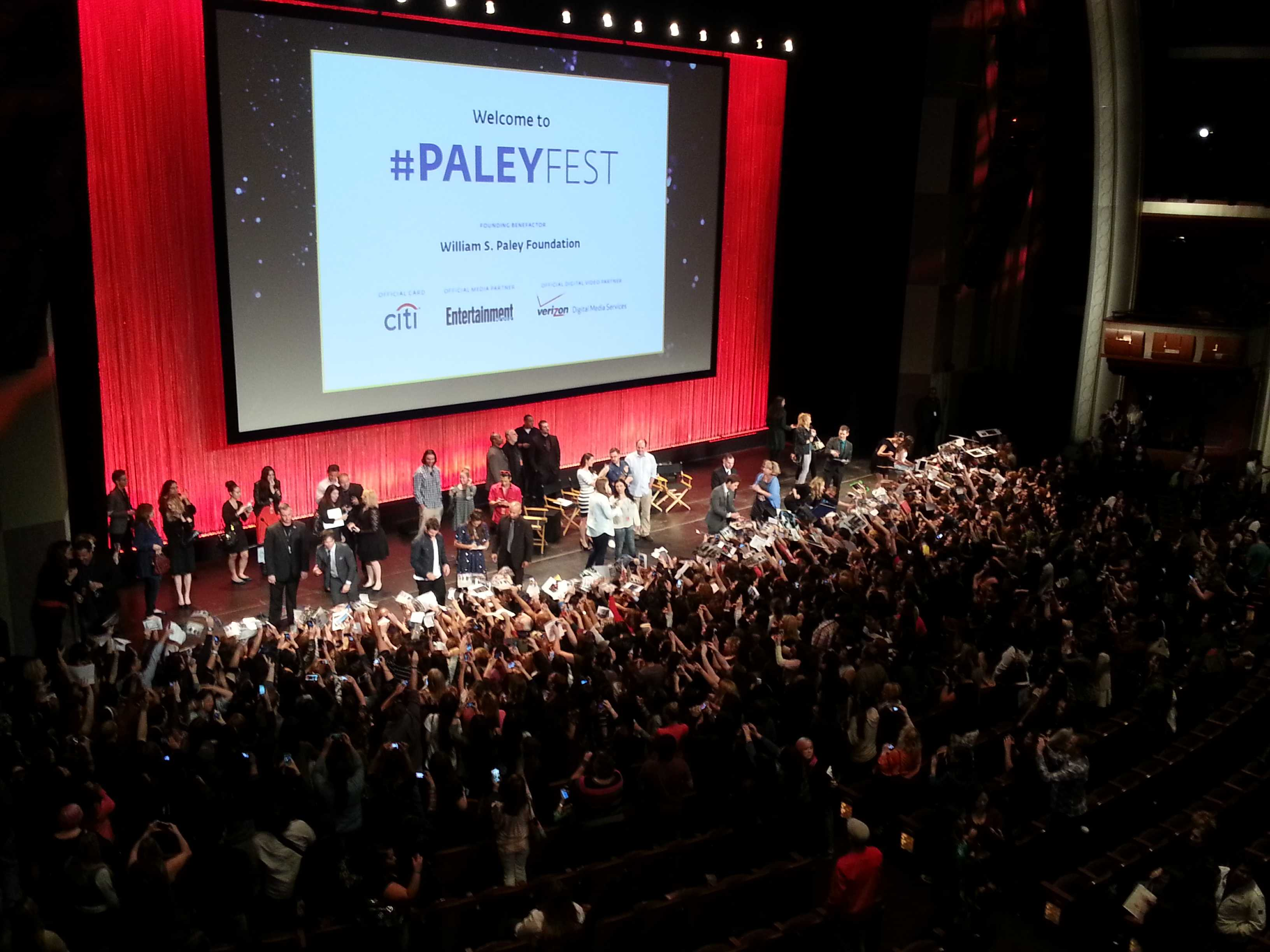 'The Vampire Diaries,' 'The Originals' cast and crew congregate at PaleyFest 2014