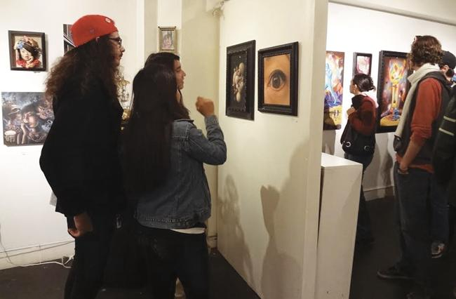 Stroll the streets and explore local galleries during the Downtown LA Art Walk