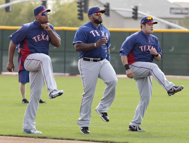 Rangers spring training