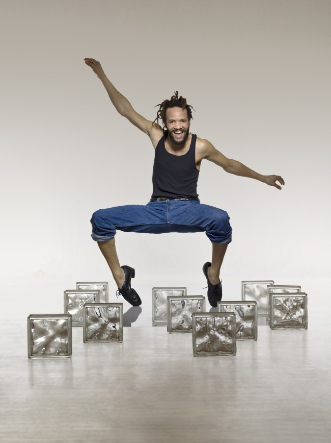 Savion Glover brings traditional beats to his contemporary dance style. | Photo by Lois Greenfield