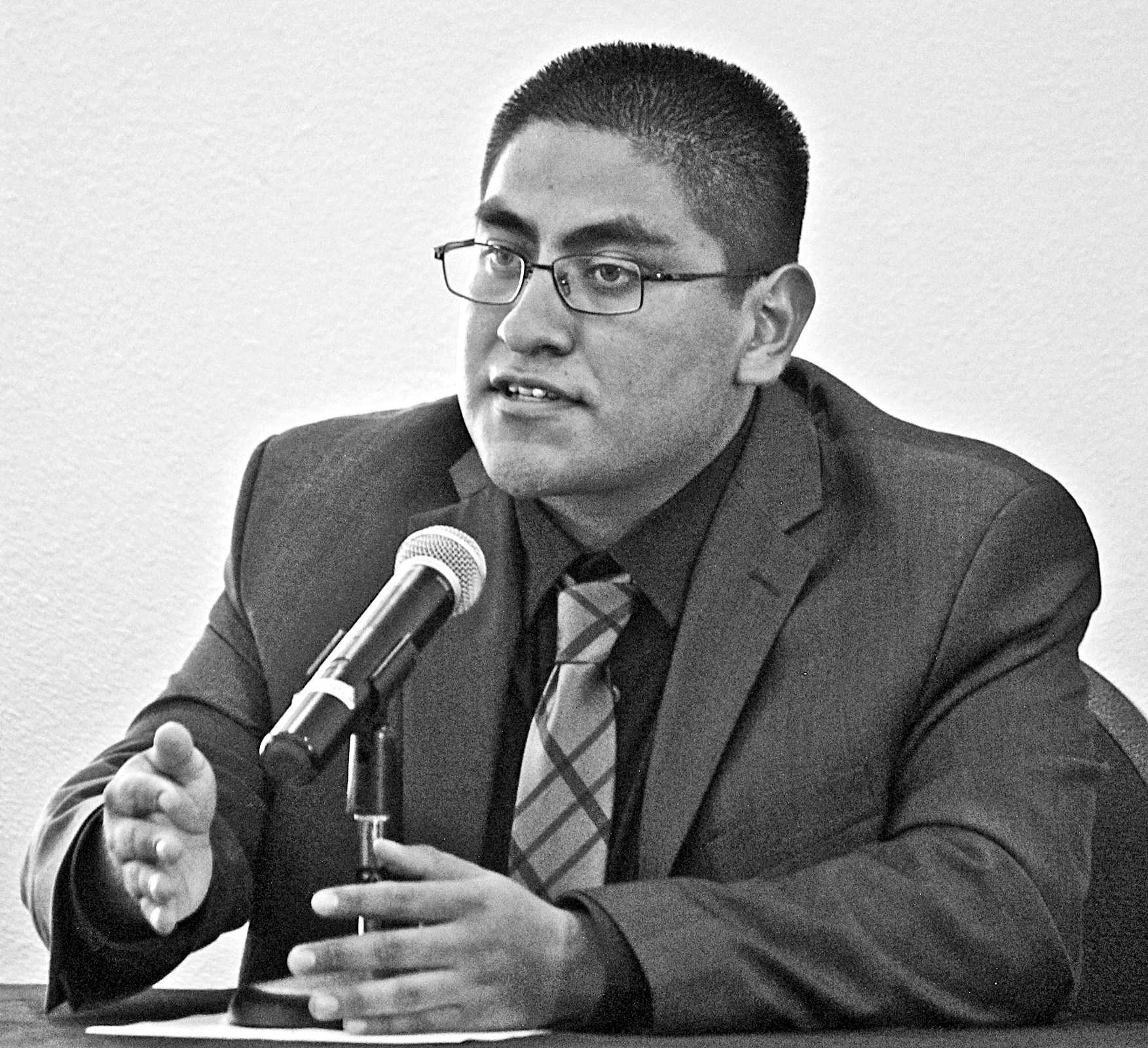 Jesus Martinez Ramirez, president candidate for the