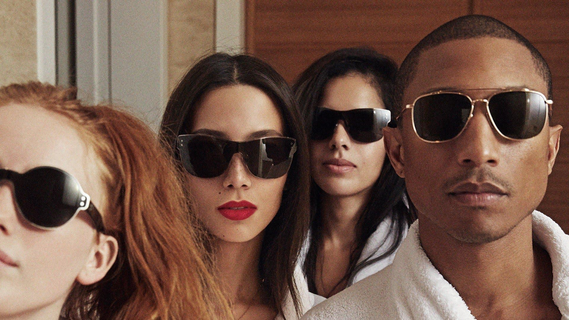 Pharrell Williams whips up another hit with 'G I R L'