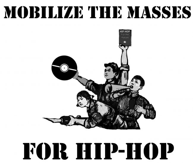 Hip-hop is resistance against the inequalities in society