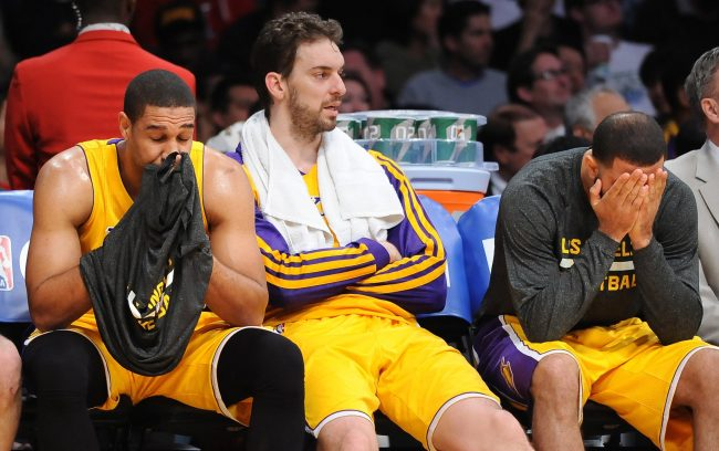 It's time for the Lakers to part ways with Pau Gasol