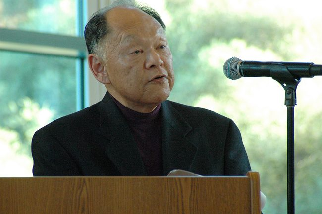 Asian American studies founder honored at student awards ceremony