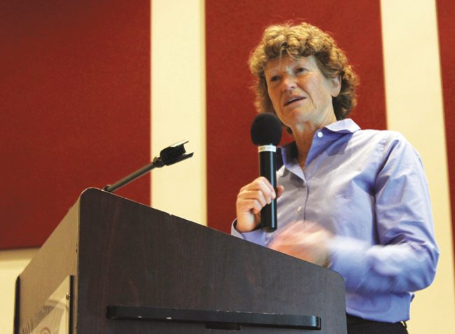 Sustainability workshop stresses water conservation and solar energy use