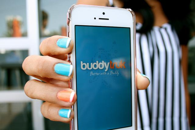 Buddytruk is an app offered for iPhone and Android users, catering to student looking to move in or out of their homes. Based out of Santa Monica, Calif. the app will be available for students to use in June. Photo credit by Neelofer Lodhy
