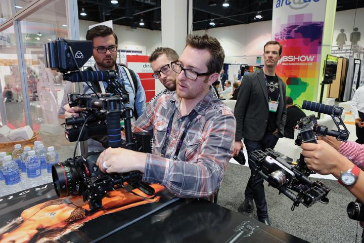 NAB Show 2014, pictured above, is the world's largest event covering filmed entertainment and content development, management and deliverytalked little about how technology improves story telling. | COURTESY OF NATIONAL ASSOCIATION OF BROADCASTERS SHOW