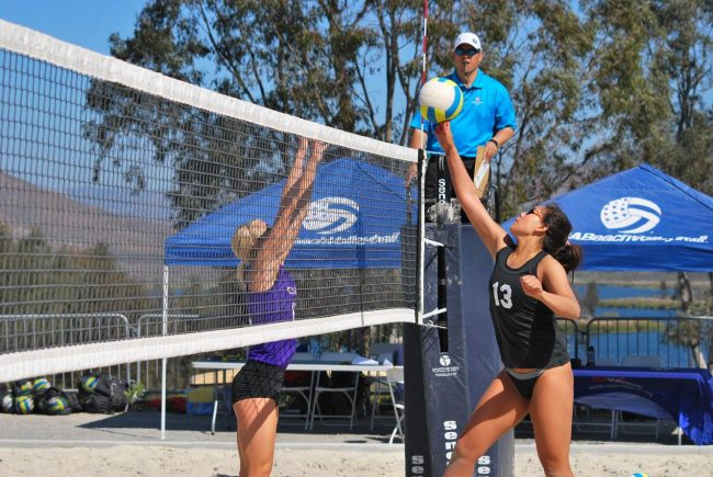 Sand Volleyball: Development of program is a team effort