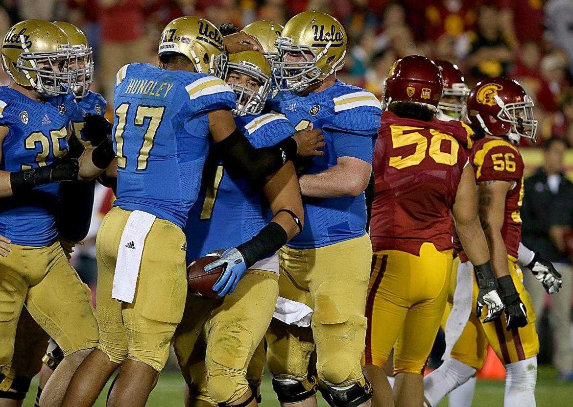 Heisman Trophy candidate Brett Hundley and the No. 7 ranked UCLA Bruins should excite college football fans at CSUN and throughout the nation, in 2014. Photo courtesy of MCT.