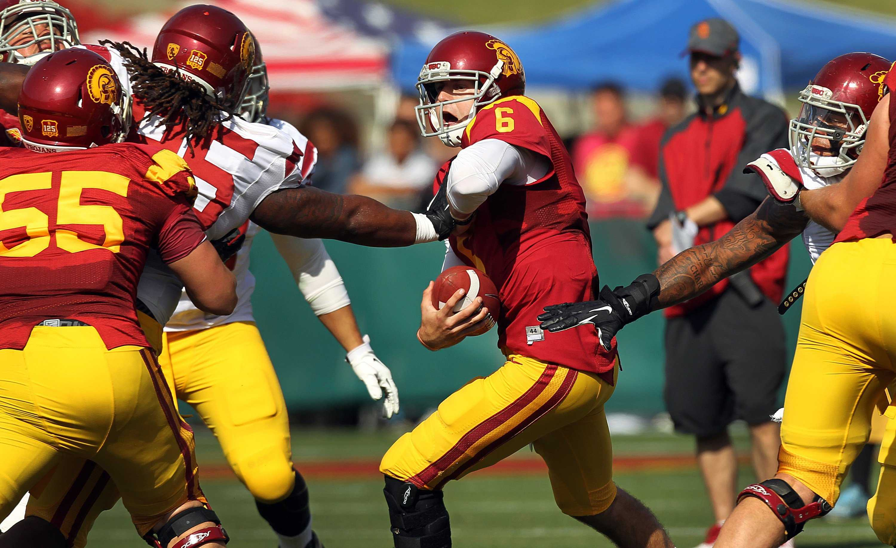 USC Cody Kessler needs to the focal point of head coach Steve Sarkisian's offense as the Trojans continue to build on last season's success.