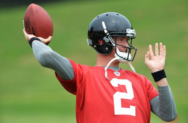 Atlanta Falcons quarterback Matt Ryan hopes to have a bounce-back season after underwhelming fantasy owners in 2013. Photo courtesy of MCT