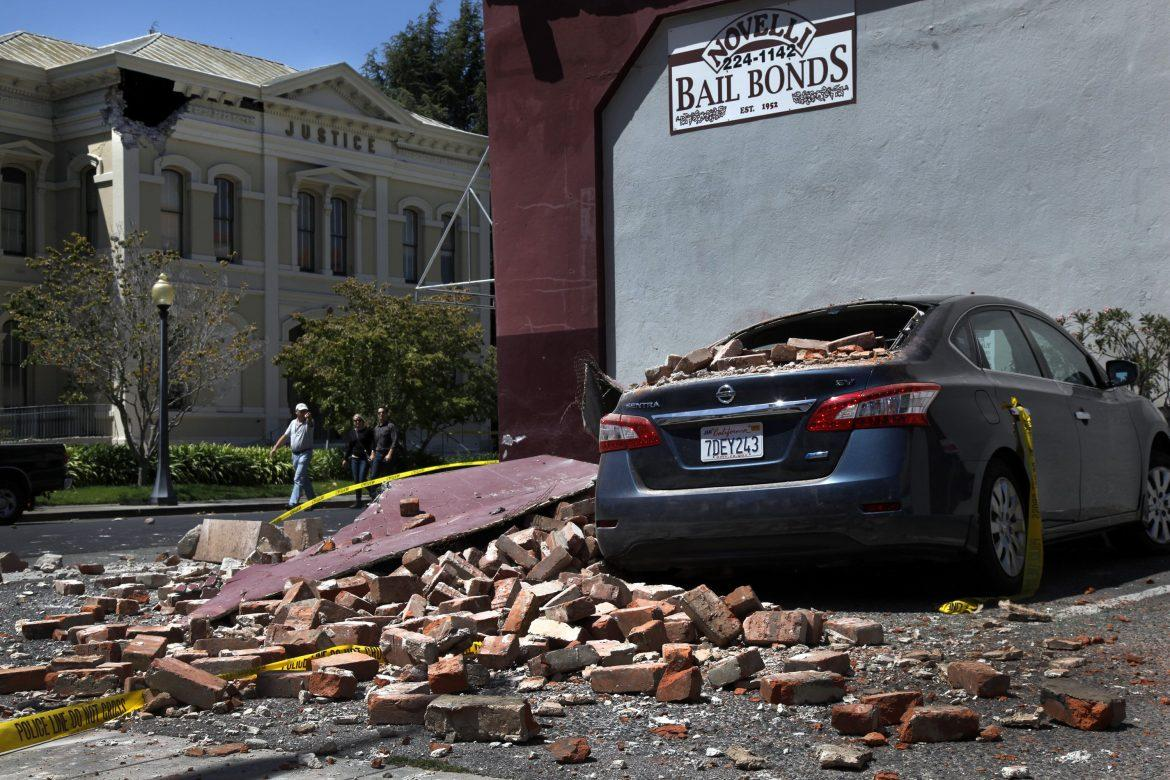 The 6.0 Napa earthquake early Sunday morning is a reminder to Californians to be prepared in the case of an emergency. Photo Courtesy of MCT