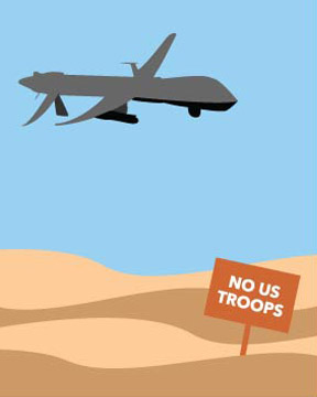 Send planes, not people, to Iraq