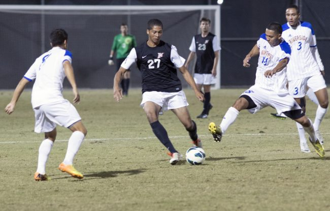 Men's Soccer: Bruins bash Matadors in 3-0 loss before first conference game