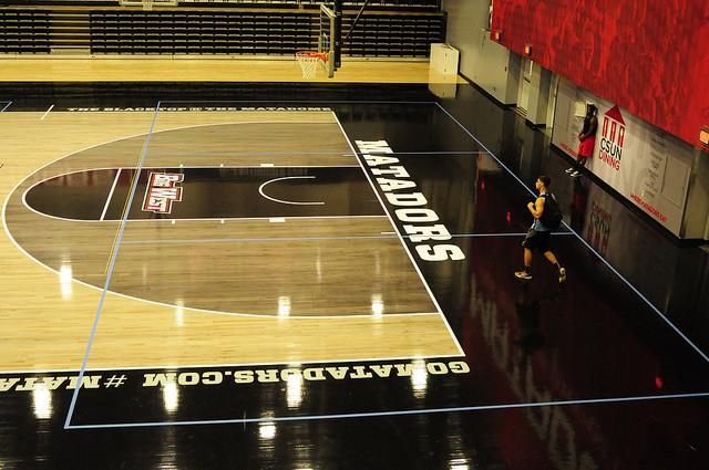 The new Matadome features a CSUN exclusive grey blacktop as part of the athletic departments complete rebranding.