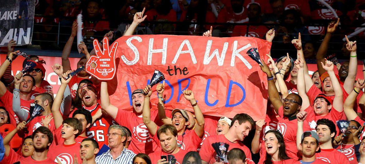 The Hawks owner's email detailed a report about the reasons why Hawks' attendace was low, including a rowdy college section and African Americans in attendance.