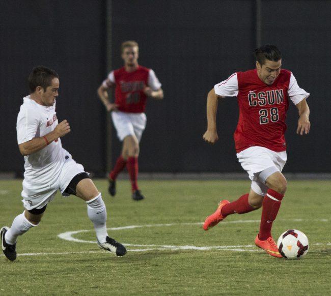 Men's Soccer: CSUN thumps No.3 Irvine in 3-0 win