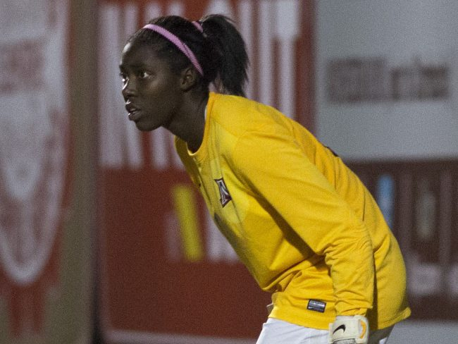 Women's Soccer: Jovani McCaskill shines as the Matadors' new Goalie