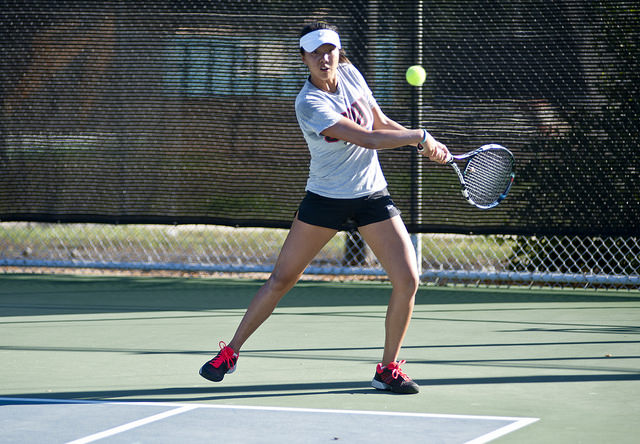 Women's Tennis: Matadors win doubles tournament in home invitational