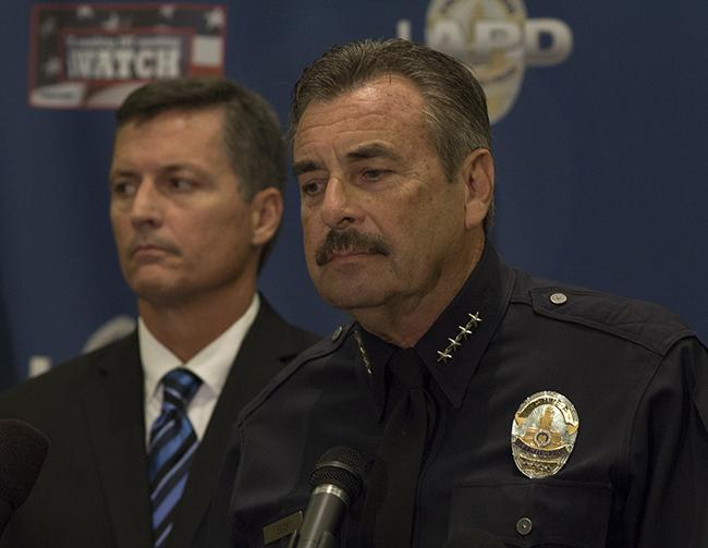 LAPD Chief Charlie Beck made an update on the current investigation into the death of CSUN student Abdullah Alkadi.