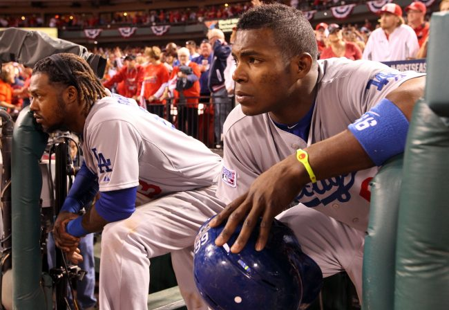 There is enough blame to go around for the entire Dodgers roster including Hanley Ramirez and Yasiel Puig. Photo courtesy of MCT.