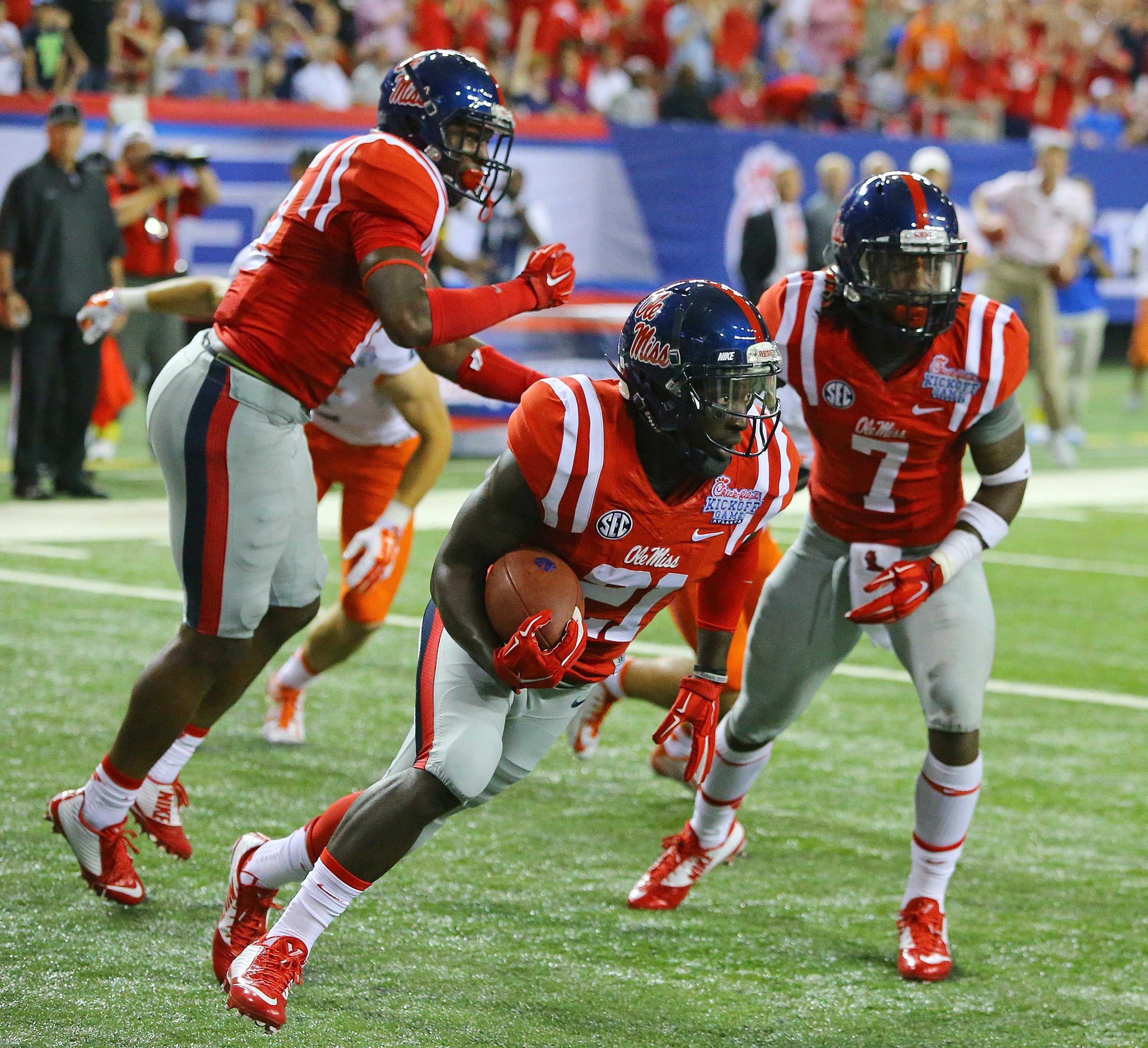 Ole Miss and Mississippi state have captured the headlines of college football thus far. Photo courtesy of Tribune News Service.
