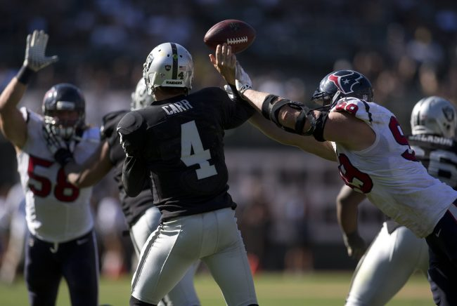 Football Friday: The Oakland Raiders and developing a young quarterback