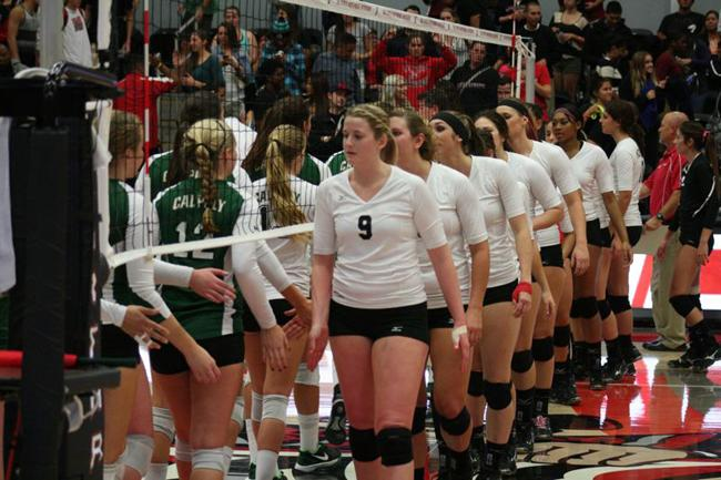 The CSUN women's volleyball team will play against the Cal Poly Mustangs this Friday, Oct. 10, 2014. File Photo/ The Sundial