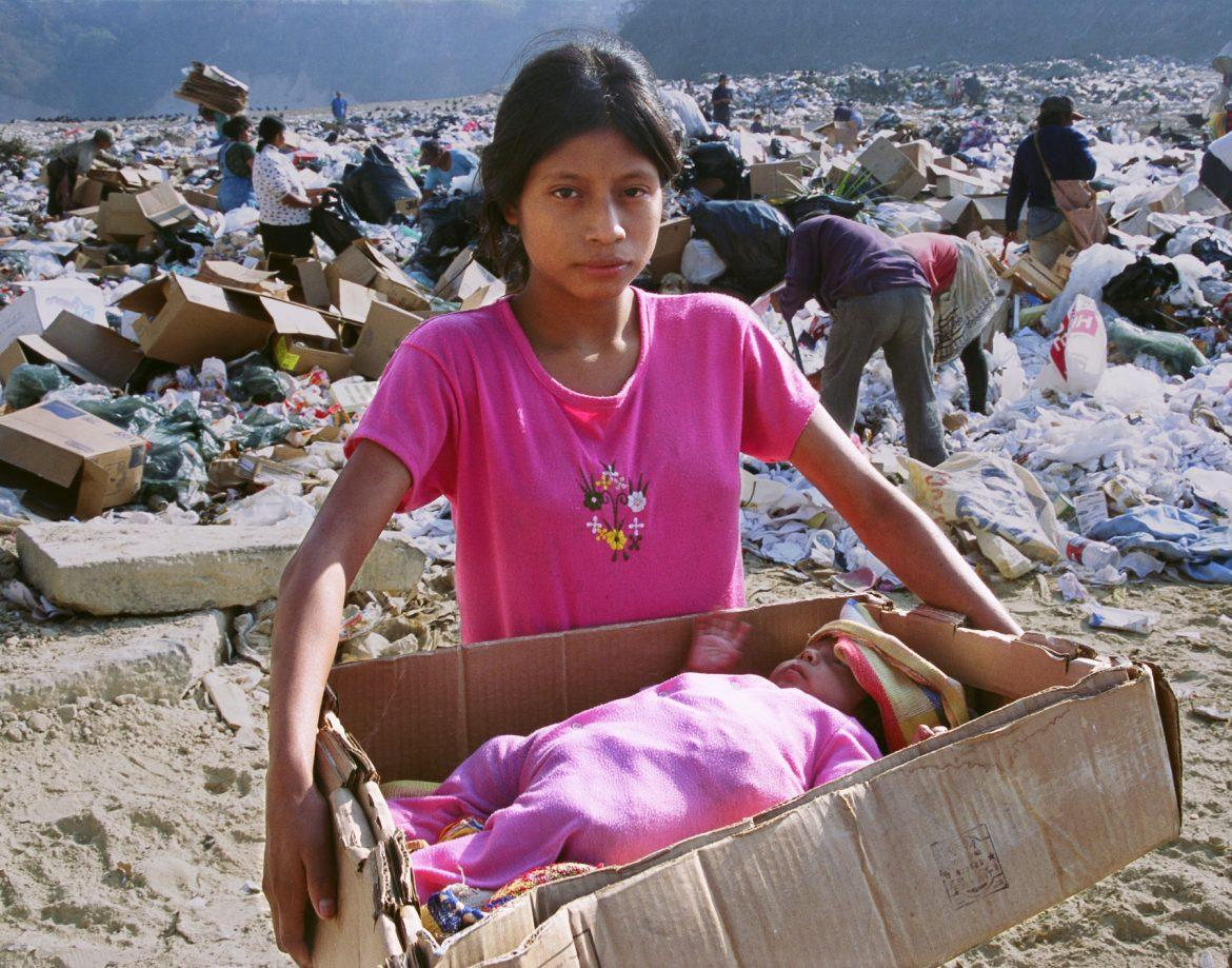 At the vast, toxic Guatemala City Garbage Dump, generations of families eke out a living picking through the trash in search of items they can recycle.