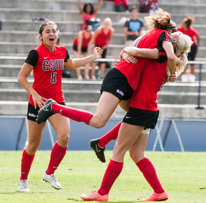 The+Women+Matadors+answered+back+after+the+Anteaters+scored+a+goal.+Photo+Credit%3A+Kelly+Rosales%2F+Contributor%2F+File+photo+