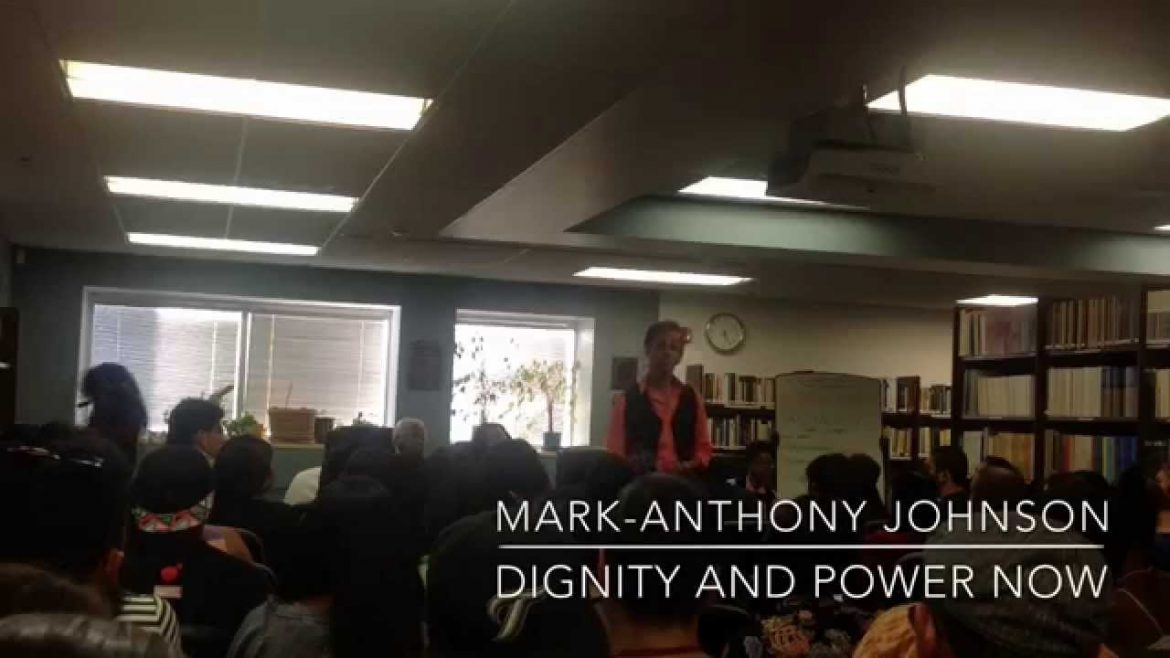 Video: 'Taking a stand for social justice'