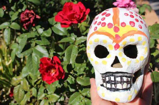 %22Day+of+the+Dead%22+decorations+like+sugar+skulls+can+be+incorporated+into+holiday+decorations.+Sugar+skulls+are+vibrant+pieces+that+can+be+decorated+with+various+colors+and+designs.+Photo+Credit%3A+Araceli+Castillo%2FPhoto+editor