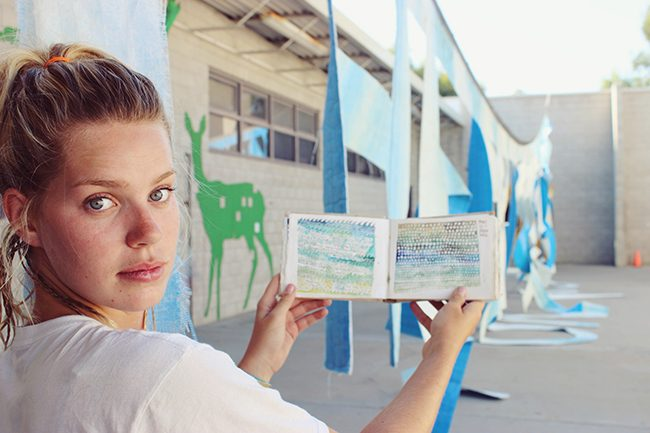 Surfing frees the artistic soul of CSUN student