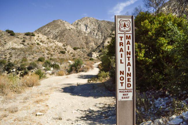 Hiking trail did Villa no favors