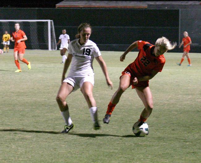 Hannah Wissler, senior, midfielder. File Photo/ The Sundial