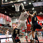 Men's Basketball: Matadors out of gas in OT loss to University of Arkansas- Little Rock