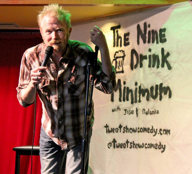 The Nine Drink Minimum: Professor meets stand-up comedy