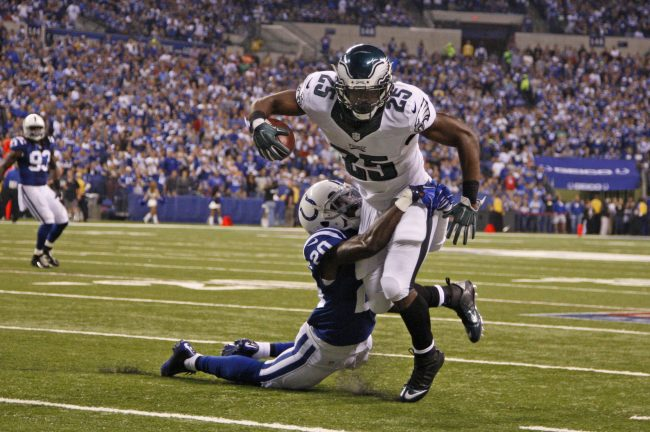 Is Lesean McCoy back? Photo courtesy of Tribune News Services.