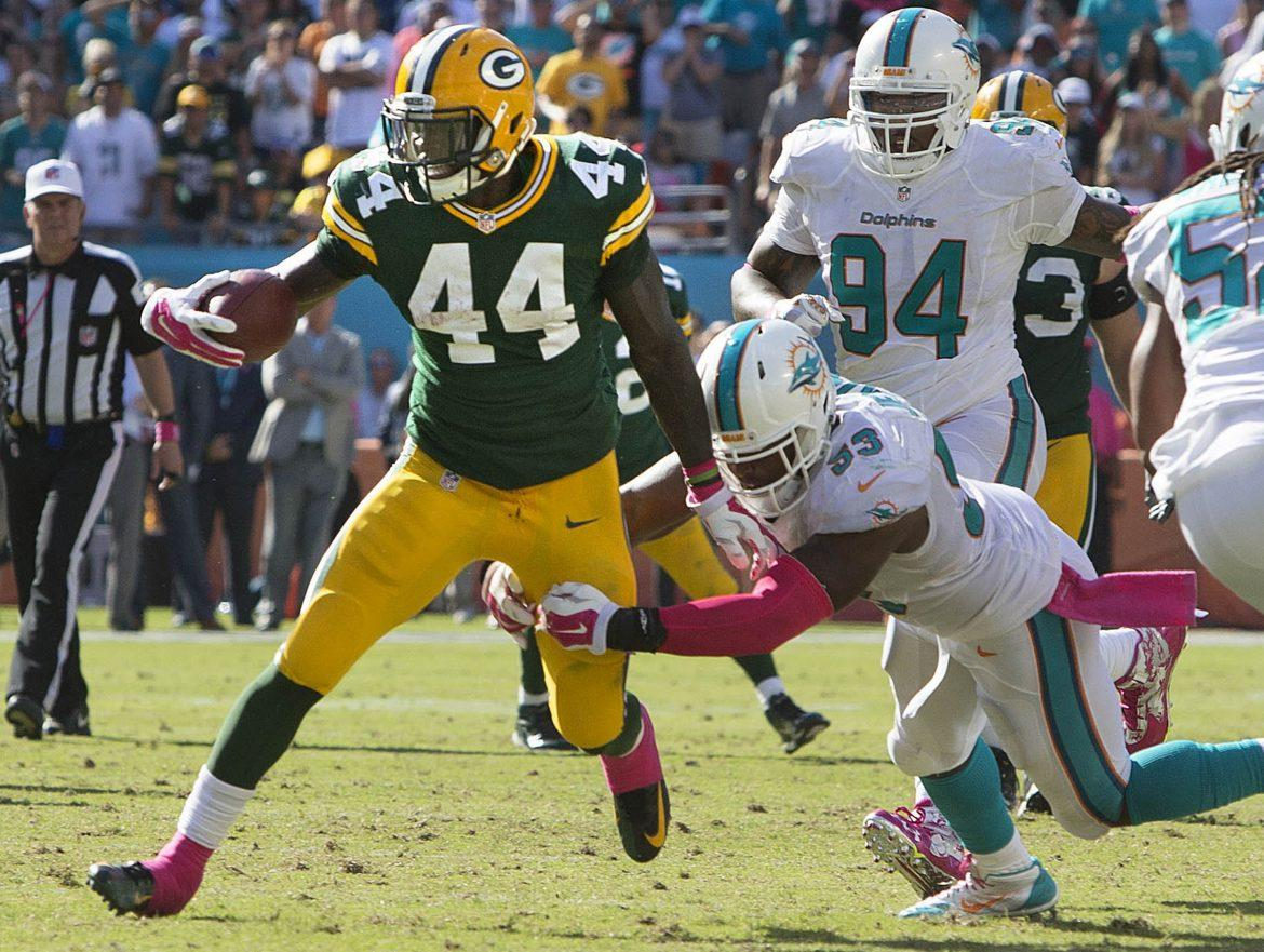 Green+Bay+Packers+running+back+James+Starks+is+among+this+week%27s+Fantasy+Football+picks.+Photo+Courtesy+of+Tribune+News+Service