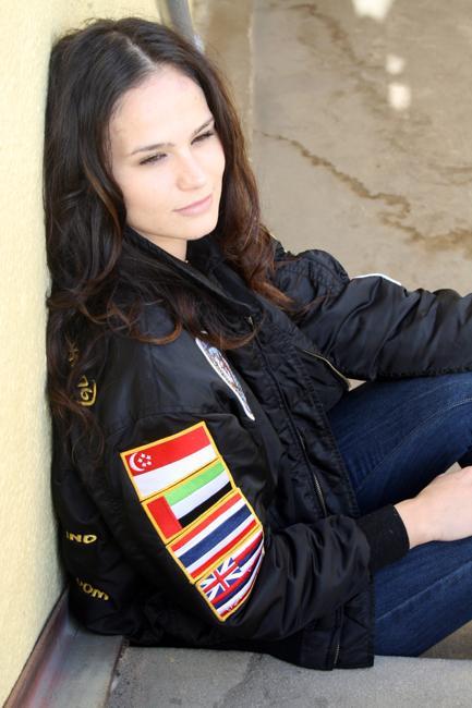 Student veteran unveils her voyage