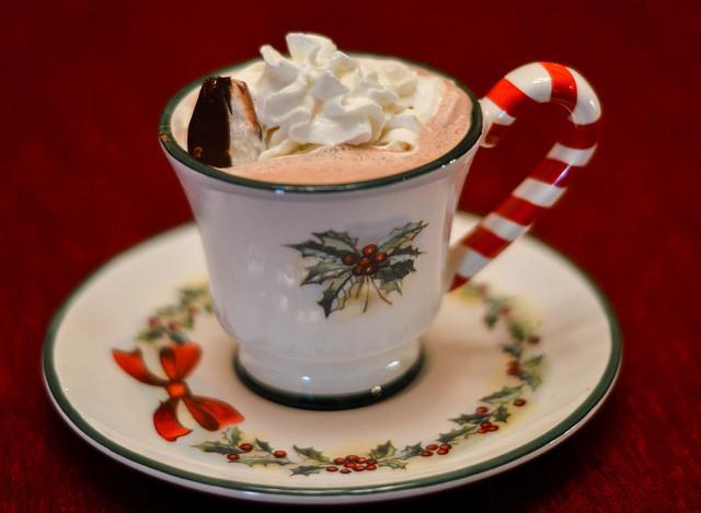 Hot Chocolate with a kick! Photo Credit: Crystal Lambert/Sundial Staff