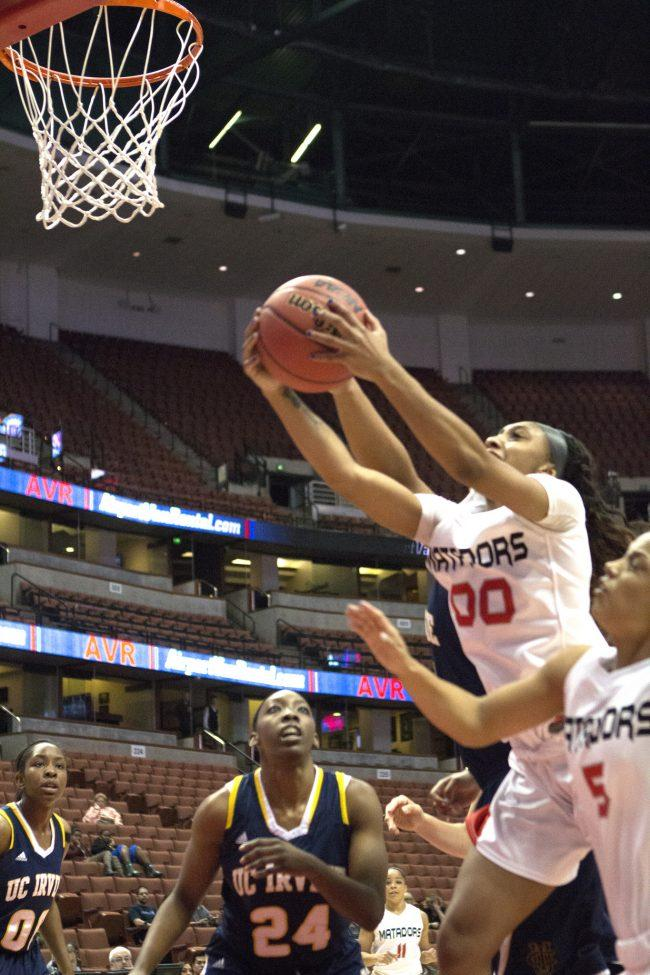 Women's Basketball: CSUN devours last place UC Irvine Anteaters 72-63 in away game