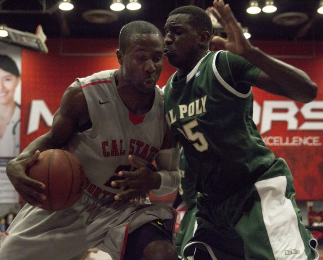 Men's Basketball: CSUN wins back-to-back, tramples Big West champs Cal Poly 55-48