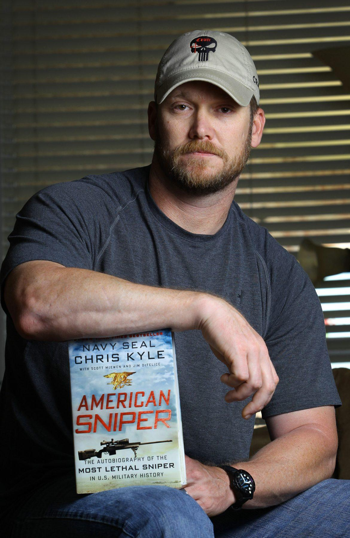 Chris Kyle, a retired Navy SEAL and bestselling author of the book