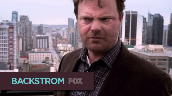 Rainn Wilson's Back in Backstrom