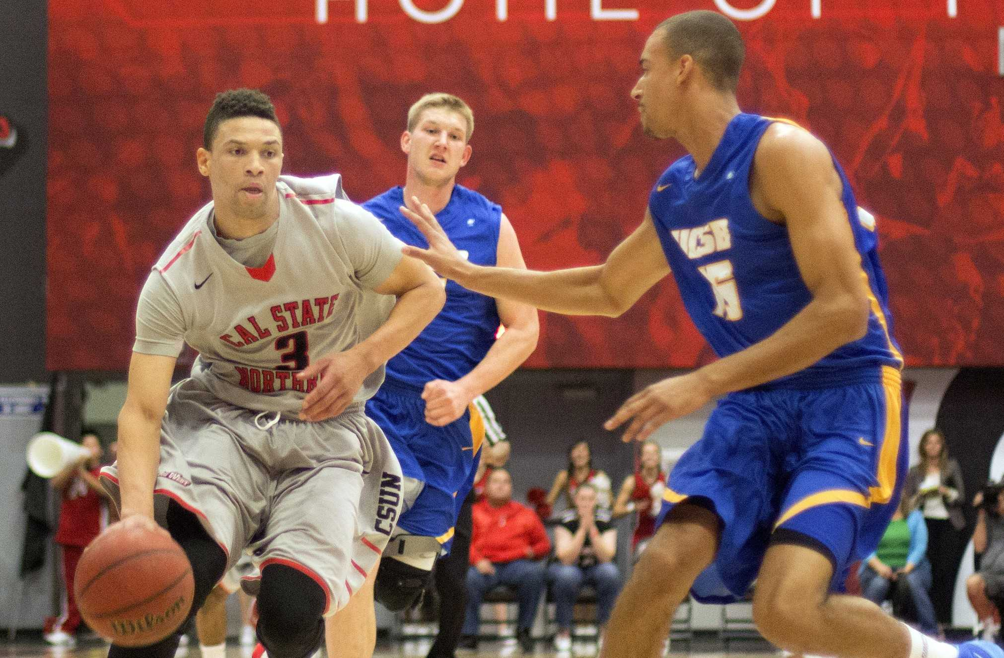 Men's Basketball: Tired CSUN waver in the second half in 65-57 loss to UC Santa Barbara